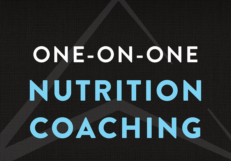 One-on-one Nutrition Coaching