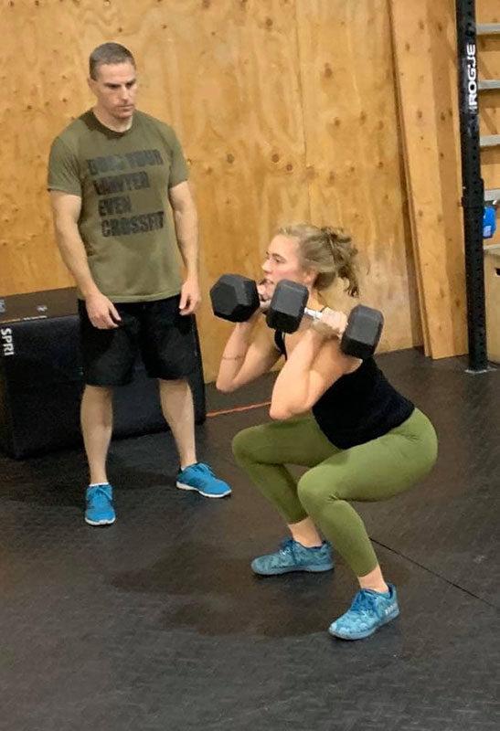 OliviaGillquist CrossFitLevel1Trainer